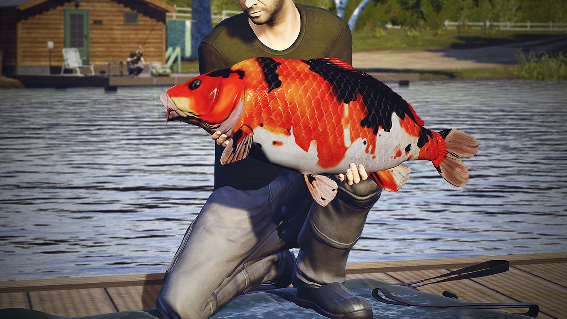 Euro fishing le lac d 39 or on xbox one for Euro fishing xbox one