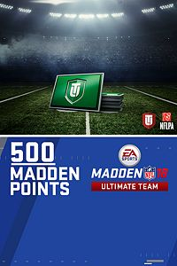 Carátula del juego 500 Madden NFL 18 Ultimate Team Points