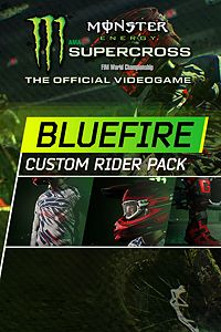 Carátula del juego Monster Energy Supercross - Bluefire Custom Rider Pack