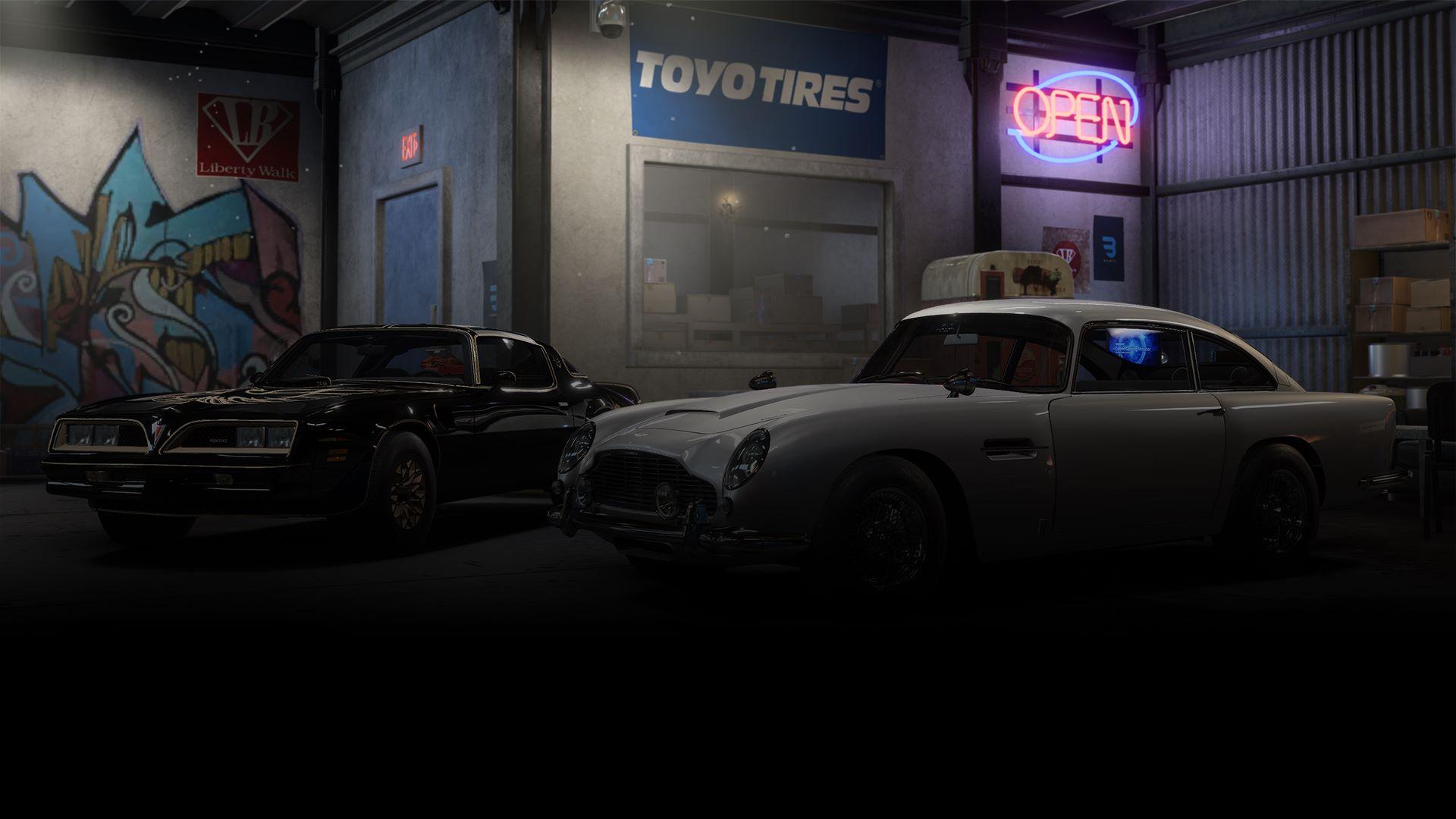 Need for Speed™ Payback: Pontiac Firebird & Aston Martin DB5 Superbuild Bundle