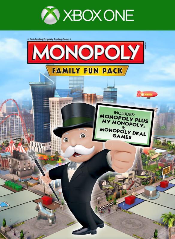 Monopoly Family Fun Pack boxshot