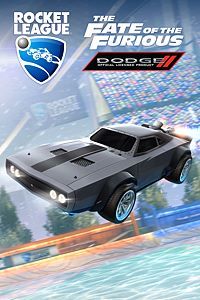 Carátula del juego Rocket League - The Fate of the Furious Ice Charger de Xbox One
