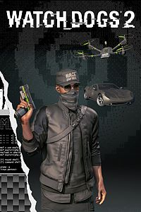 Carátula del juego Watch Dogs2 - Black Hat Pack