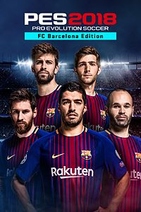 Carátula del juego PRO EVOLUTION SOCCER 2018 - FC Barcelona Edition Bundle