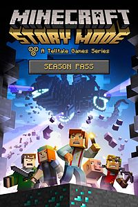 Carátula del juego Minecraft: Story Mode - Season Pass (Episodes 2-5) de Xbox One