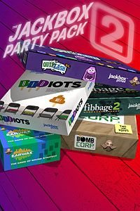 Carátula del juego The Jackbox Party Pack 2 de Xbox One