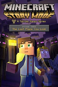 Carátula del juego Minecraft: Story Mode - Episode 3: The Last Place You Look de Xbox One