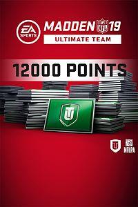 Pacote de 12000 MUT Points do Madden NFL 19