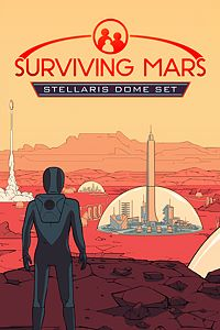 Carátula del juego Surviving Mars - Stellaris Dome Set