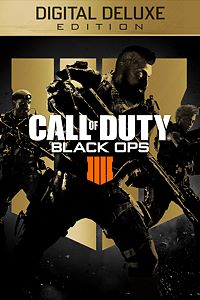 Carátula para el juego Call of Duty: Black Ops 4 - Digital Deluxe de Xbox 360