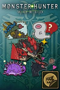 Carátula del juego Sticker Set: Classic Monsters Set