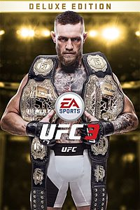 Carátula para el juego EA SPORTS UFC 3 Deluxe Edition de Xbox One