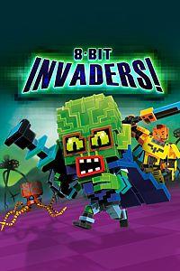 Carátula para el juego 8-Bit Invaders! de Xbox 360
