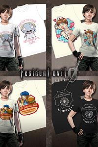 Carátula del juego Resident Evil 0 Fan Design T-shirt Pack