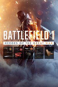 Carátula del juego Battlefield 1 Heroes of the Great War Bundle de Xbox One