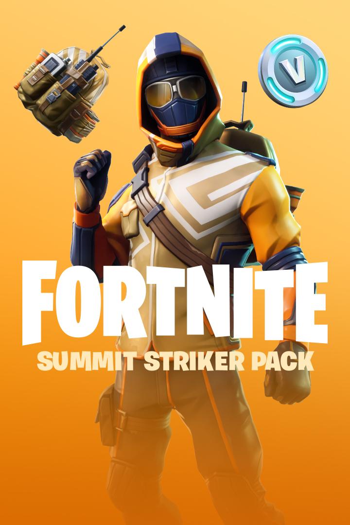 Buy Fortnite Battle Royale The Summit Striker Pack Microsoft