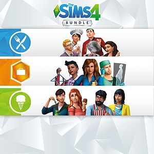 The Sims™ 4 Bundle - Get to Work, Dine Out, Cool Kitchen Stuff Xbox One