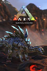 Carátula del juego ARK: Survival Evolved Bionic Stegosaurus Skin