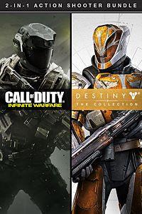 Carátula del juego Call of Duty: Infinite Warfare + Destiny - The Collection de Xbox One