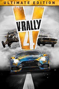 Carátula para el juego V-Rally 4 Ultimate Edition de Xbox 360
