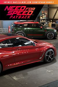 Carátula del juego Need for Speed Payback: MINI John Cooper Works Countryman & Infiniti Q60 S Bundle