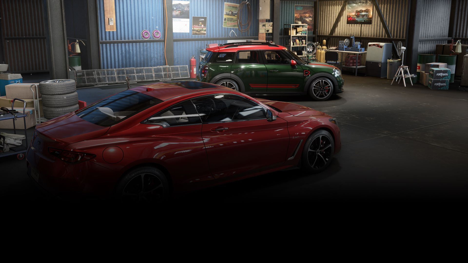 Need for Speed™ Payback: MINI John Cooper Works Countryman & Infiniti Q60 S Bundle