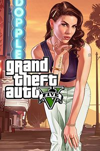Carátula para el juego Grand Theft Auto V de Xbox One