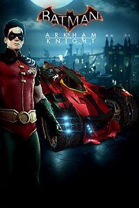 Robin and Batmobile Skins Pack