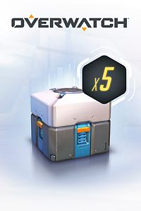 Carátula del juego Overwatch - 5 Loot Boxes