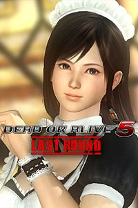 Carátula del juego DEAD OR ALIVE 5 Last Round Kokoro Maid Costume