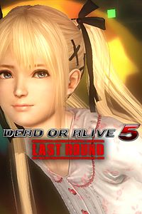 Carátula del juego DEAD OR ALIVE 5 Last Round Marie Rose Bedtime Costume