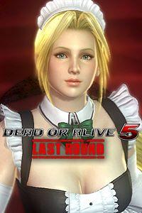Carátula del juego DEAD OR ALIVE 5 Last Round Helena Maid Costume