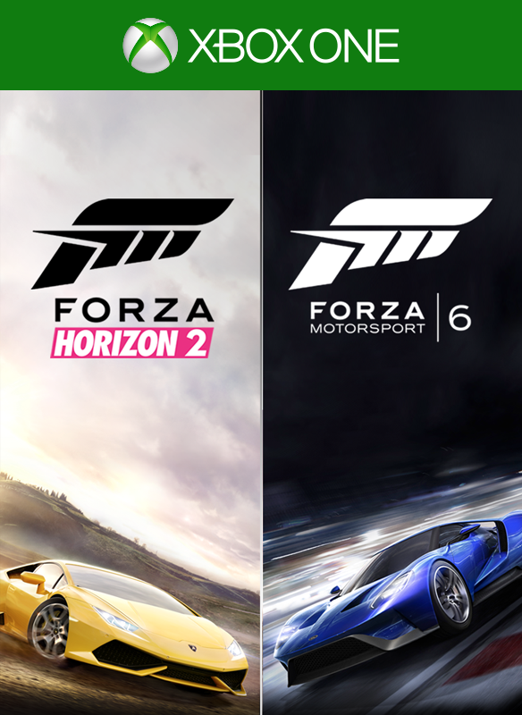 Forza Motorsport 6 and Forza Horizon 2 Bundle boxshot