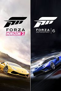 Carátula del juego Forza Motorsport 6 and Forza Horizon 2 Bundle
