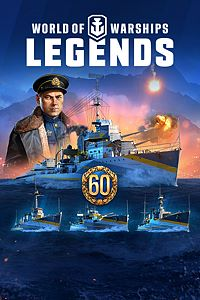Carátula del juego World of Warships: Legends - Ultimate Edition