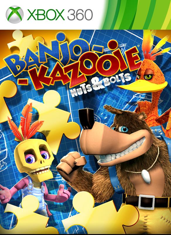 Banjo Kazooie: N n B boxshot