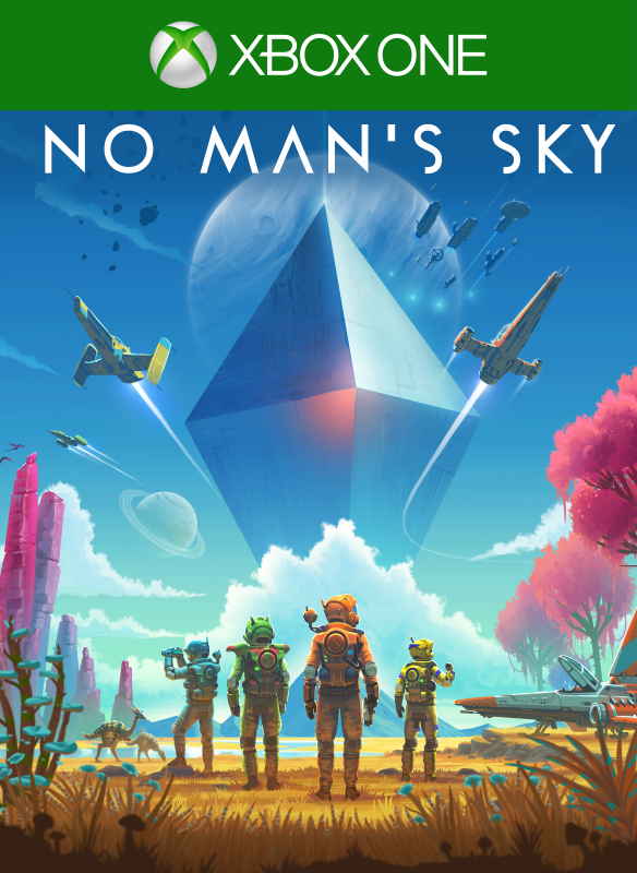 No Man's Sky digital packshot