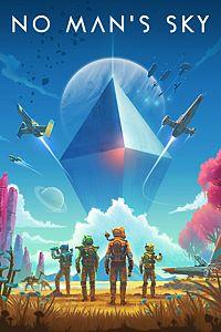 Carátula para el juego No Man's Sky de Xbox 360