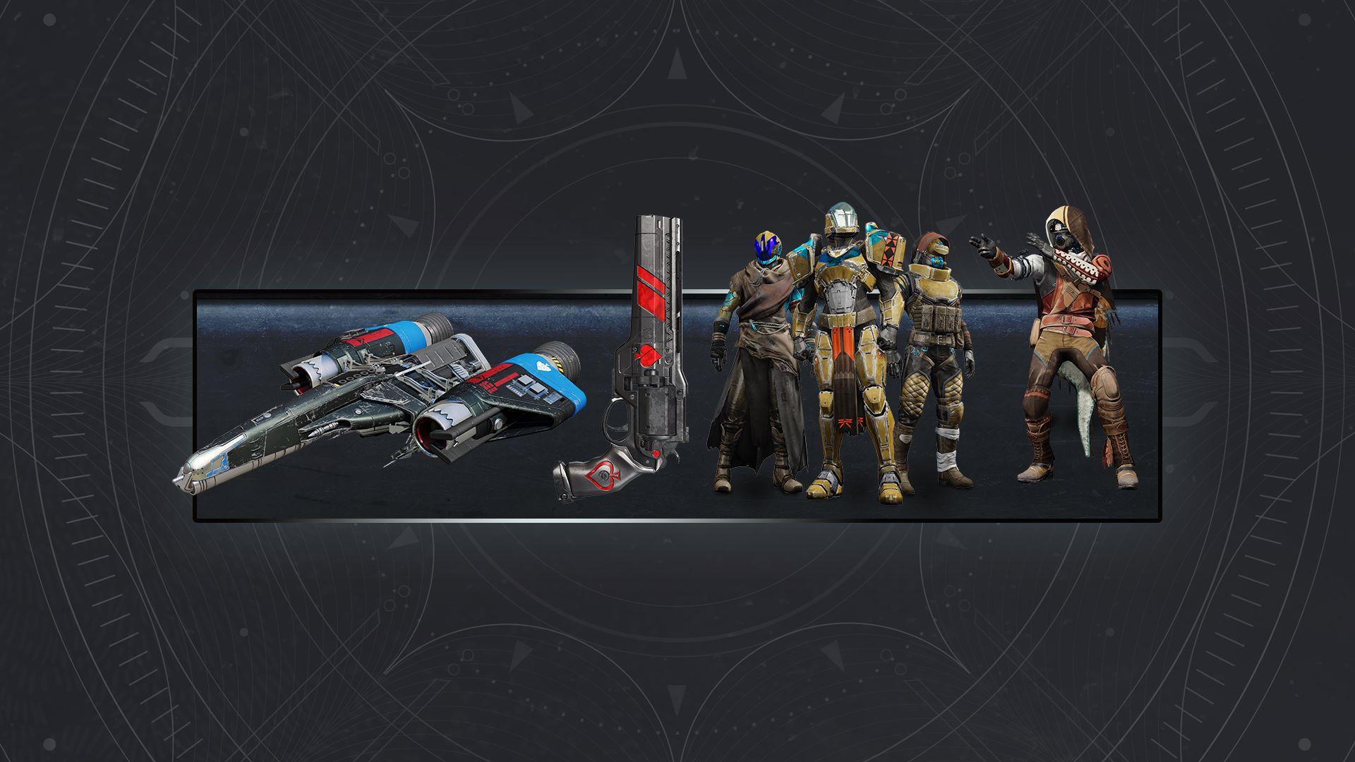 9db25ccea5e Buy Destiny 2  Forsaken - Cayde s Exotic Stash - Microsoft Store