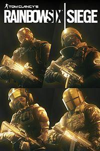 Carátula para el juego Tom Clancy'S Rainbow Six Siege: Pro League All Gold Sets de Xbox 360