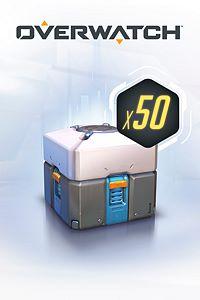 Carátula del juego Overwatch - 50 Loot Boxes