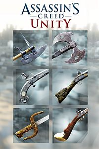 Carátula del juego Assassin's Creed Unity - Revolutionary Armaments Pack de Xbox One