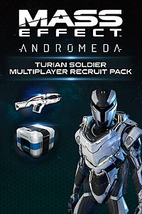Carátula del juego Mass Effect: Andromeda - Turian Soldier Multiplayer Recruit Pack de Xbox One