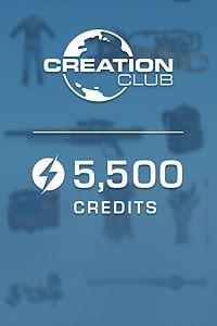 Fallout 4 Creation Club: 5500 créditos