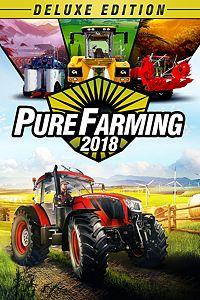 Carátula del juego Pure Farming 2018 Digital Deluxe Edition para Xbox One
