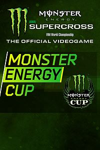 Carátula del juego Monster Energy Supercross - Monster Energy Cup