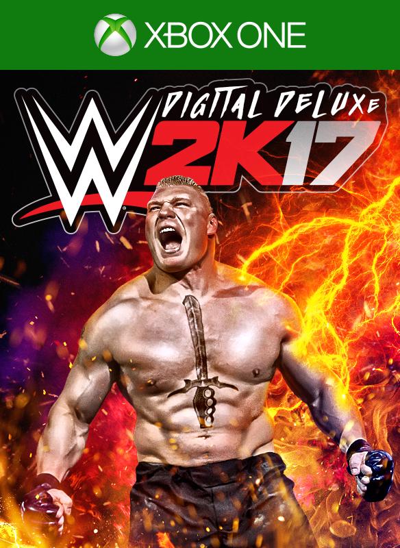WWE 2K17 Digital Deluxe boxshot