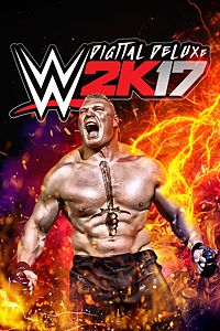 Carátula del juego WWE 2K17 Digital Deluxe de Xbox One