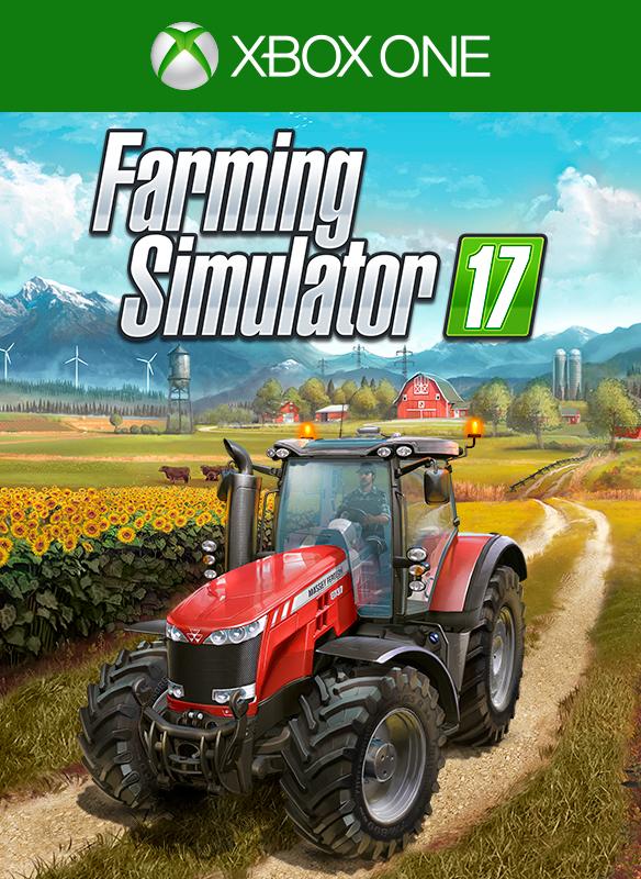 Farming Simulator 17 image de la boîte