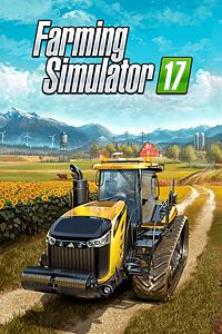 Carátula para el juego Farming Simulator 17 de Xbox 360
